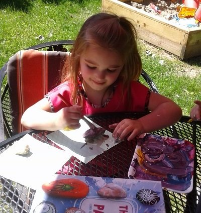 Day care painting in Carmel Indiana
